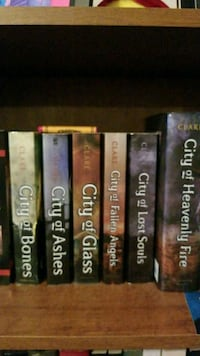 The Mortal Instruments series  Youngsville, 27596