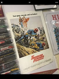 Authentic 1975 Sidecar Racers movie poster.. Great Christmas gift!  362 mi