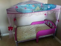 Toddler bed includes mattress  Markham, L3S 3M7