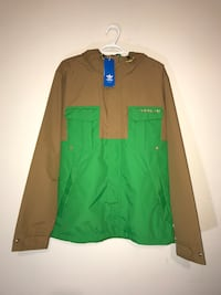 NWT Men's Adidas Running Jacket (Large) Milton, L9T 4K1