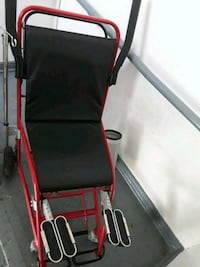 black and red folding wheelchair Dallas, 75203