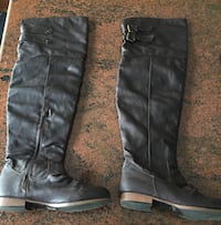 Brown Knee High Boots size 8 Tysons