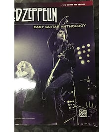 Led Zeppelin Easy Guitar Anthology Tab Book (New) Pueblo West