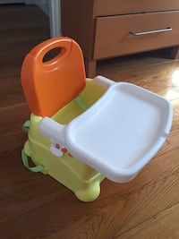 Baby booster with removable tray New York, 11364