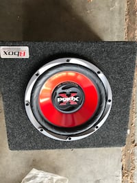 black and red Pioneer subwoofer Simi Valley, 93063