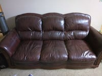 Three seat leather sofa/ couch Gaithersburg, 20878