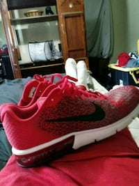 red-and-white Nike running shoes Louisville, 40299