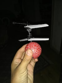red and white R/C helicopter ball Modesto, 95351