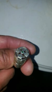 silver and black gemstone ring Oxon Hill, 20745
