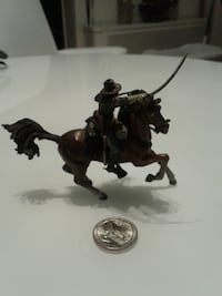 Soldier on horse