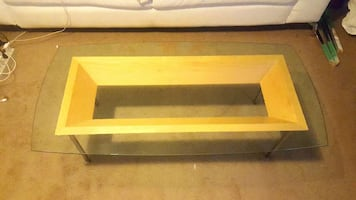 Wooden Coffee Table Base NEEDS GLASS TOP!!