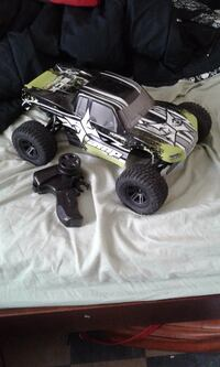 black and green monster truck RC toy Vancouver