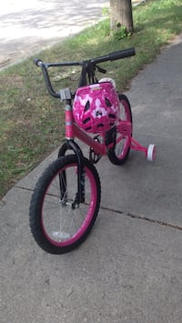 Toddler's pink and white bicycle .size .18 Winnipeg, R2M 3B7