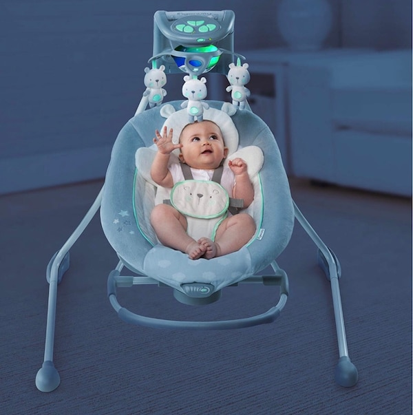 Baby swing manual included