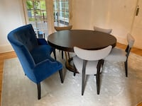 Custom dinning table, chairs and bench (Alice Lane designer piece)