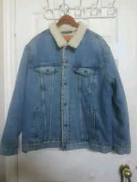 Levi's Sherpa Denim Jacket XXL