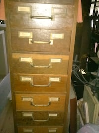 $175. Old oak library card file Moss Point, 39562