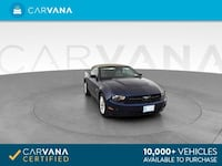 2010 *Ford* *Mustang* Convertible 2D Convertible Dk. Blue Chattanooga, 37402