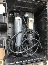 black and gray corded power drill Melrose Park, 60160