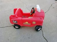 red ride-on toy car Riverside, 92504