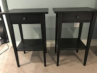 IKEA Hemnes side tables  Severn, L3V