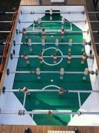 green and brown foosball table Manchester, 37355