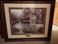Thomas Kinkade Signed limited edition Blanchard, 83804