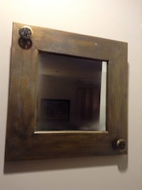brown wooden framed wall mirror Fairfax, 22030