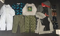 18 -24 months lot of clothes and shoes like new Mississauga, L5B 4M6