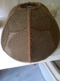 Wicker lamp shade 14 in 733 mi