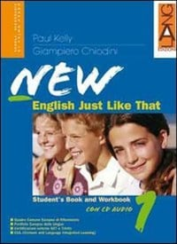 New English Just Like That 1+ CD Taranto