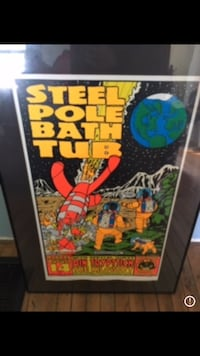 Steel Pole Bath Tub poster Kawartha Lakes