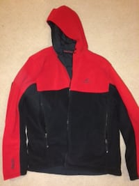 black and red zip-up jacket (reversible) PURCELLVILLE