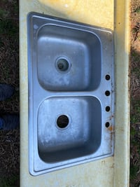 Stainless steel sink standard 33""