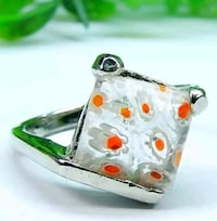 NEW*CUTE STYLISH MURANO GLASS RING*SZ 9* Vancouver, 98682