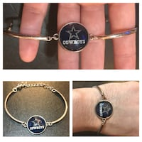 Cowboys Adjustable Bracelet Farmers Branch, 75244