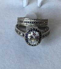 Gorgeous fashion silver colour ring set size 9 Hamilton, L8W 3M2