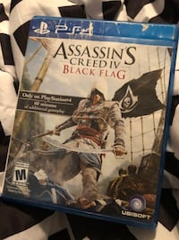 Assassins creed ps4 game $10 obo