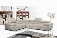 MODERN AIR LEATHER SECTIONAL ..$1499 Toronto