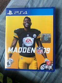 EA Sports Madden NFL 18 PS4 game case Rancho Cucamonga, 91730