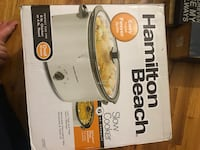 Hamilton beach crock pot never opened brand new