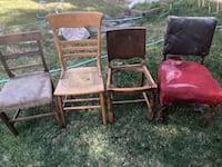 4 antique chairs you get all 4