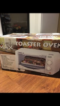 Toaster oven brand new, never used