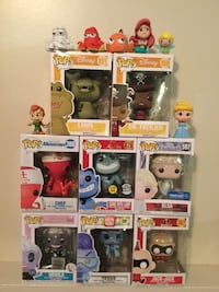 Disney Funko Pop Figures & Minis. Ursula, Elsa, Jack Jack & More  Cambridge, N1P 1A8
