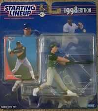 Starting Lineup Jose Canseco 1998 edition  Raleigh, 27610