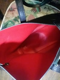 red and black leather bag Marietta, 30067