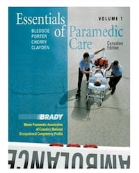 Essentials of Paramedic Care by Brady, Volume 1
