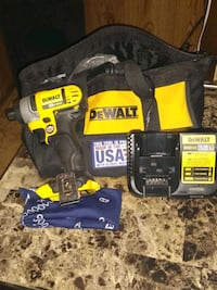 black and yellow DeWalt cordless power drill Winterhaven, 92283