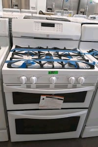 new Kenmore stove gas