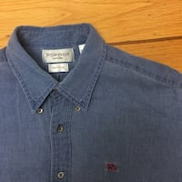 YSL Distressed Button Up
